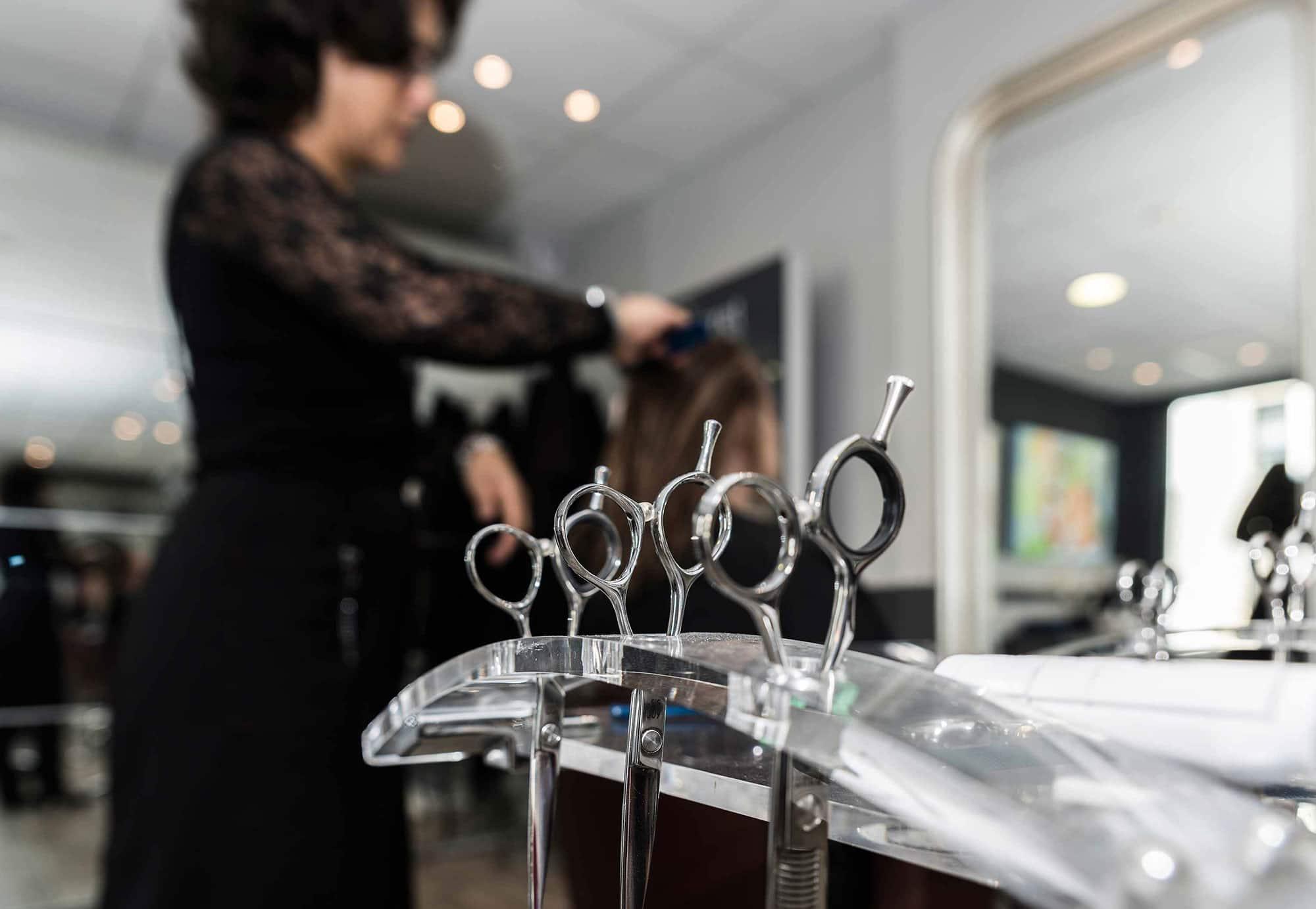 photo du salon de coiffure